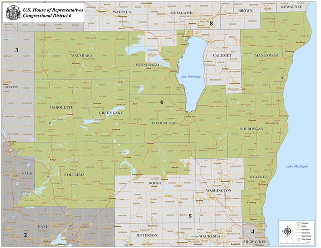 6th Congressional District Map