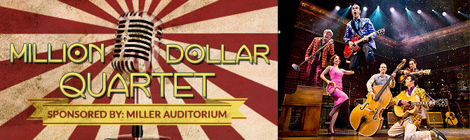 Million Dollar Quartet Banner