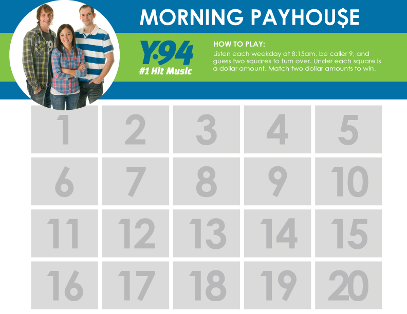Morning Payhouse Grid