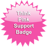 National Breast Cancer Awareness Month Supporter Badge