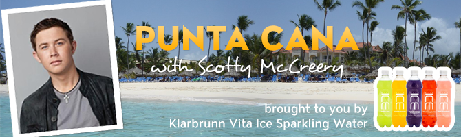 Punta Cana with Scotty McCreery