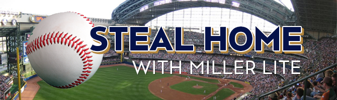 Steal Home with Miller Lite