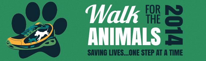 Walk For the Animals Banner