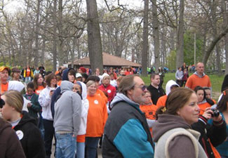 MS Walk at Potter Park Zoo