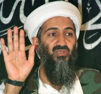Osama bin Laden speaks at a news conference in Afghanistan in this May 26, 1998 file photo. W REUTERS/Stringer