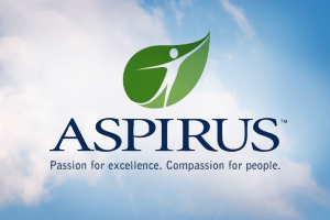 Aspirus logo.