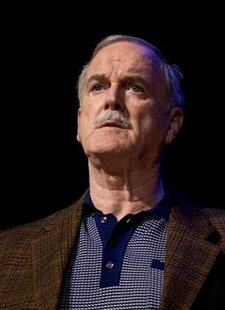 British actor John Cleese performs during dress rehearsals for his new one man show at the Oslo Concert House October 2, 2009. REUTERS/Bjorn Sigurdson/Scanpix