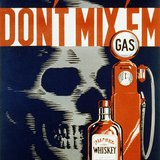 "Drunk driving safety poster from 1937. ""Don't mix 'em"" By Robert Lachenman for the Work Projects Administration Federal Art Project, Pennsylvania [Public domain], via Wikimedia Commons"