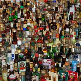 Bottles of hard liquor By scottfeldstein [CC-BY-2.0 (http://creativecommons.org/licenses/by/2.0)], via Wikimedia Commons