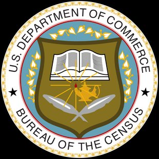 Seal of the United States Census Bureau By United States Bureau of the Census This vector version by Mysid [Public domain], via Wikimedia Commons