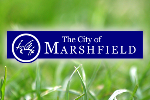 Marshfield city logo.