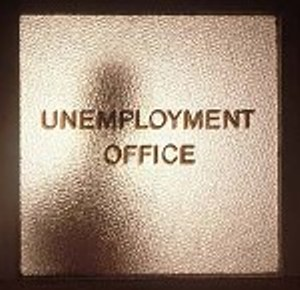 Unemployment office graphic.