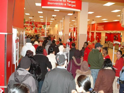 DC USA, Target, Black Friday By Gridprop at en.wikipedia [Public domain], via Wikimedia Commons