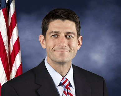 Official portrait of Congressman Paul Ryan By United States Congress [Public domain], via Wikimedia Commons