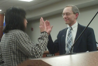 The Wausau City Council appointed David Nutting in January 2010 to fill out the unexpired term of 10th district alderman Steve Foley, who resigned and moved to Florida in November.