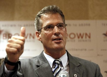 Sen Scott Brown, R-Massachusetts