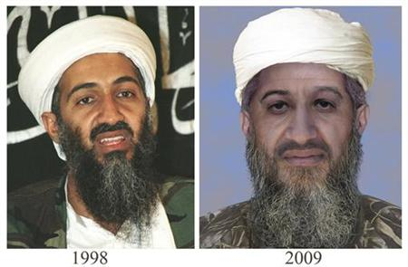"The U.S. Department of State and FBI have released this ""age progressed"" photograph of Osama Bin Laden (Usama bin Ladin) as a part of newly enhanced photos of terrorist suspects on their most wanted lists in Washington, January 15, 2010. REUTERS/U.S. State Department/Handout"
