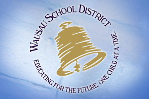 Wausau School District logo.