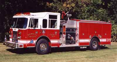 Sheboygan Fire Engine