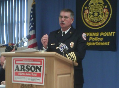 Stevens Point fire Chief John Zinda explains how residents can prevent themselves from becoming victims of an arson spree.