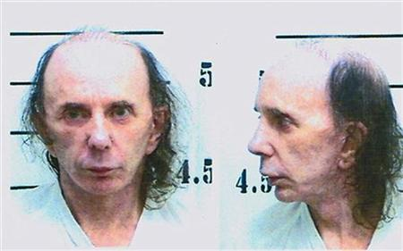 Mug shot photo of inmate Phillip Spector, music producer, dated June 5, 2009 and released by the Calfironia Department of Corrections June 10, 2009. REUTERS/California Department of Corrections/Handout