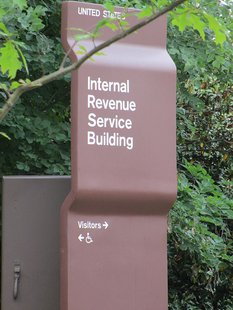 IRS Welcome sign By Joshua Doubek (Own work) [CC-BY-SA-3.0 (http://creativecommons.org/licenses/by-sa/3.0)], via Wikimedia Commons