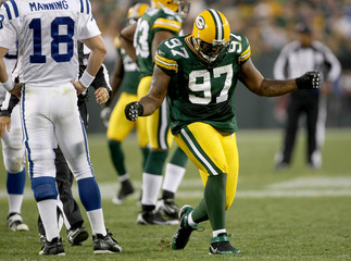Packers Defensive Lineman Johnny Jolly