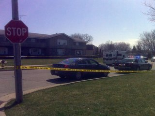 Police in Neenah investigate suspcious death. (Courtesy of FOX 11).