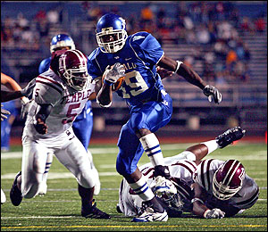 Buffalo running back James Starks, the Green Bay Packers 6th round pick (courtesy of Wordpress.com)