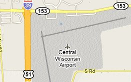 Central Wisconsin Airport in Mosinee, WI