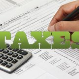 Tax forms graphic. copyright 2013 Midwest Communications, Inc.