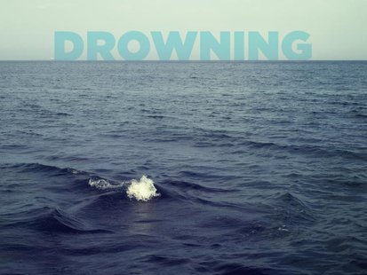 Drowning graphic. copyright 2013 Midwest Communications, Inc.