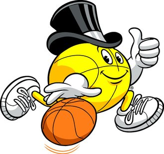 Gus Macker three-on-three basketball tournament logo.