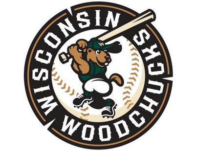 The Wisconsin Woodchucks baseball team logo
