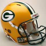Green Bay Packers helmet.