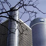 The General Motors world headquarters is seen in downtown Detroit, Michigan in this May 31, 2009 file photo. REUTERS/Rebecca Cook
