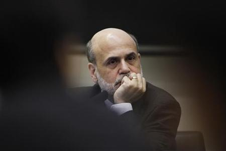 Federal Reserve Chairman Ben Bernanke attends a conference hosted by the Bank of Japan in Tokyo May 26, 2010. U.S. inflation expectations were very stable and well-anchored at a low level despite pronounced swings in the past few years, Bernanke said on Wednesday. REUTERS/Yuriko Nakao