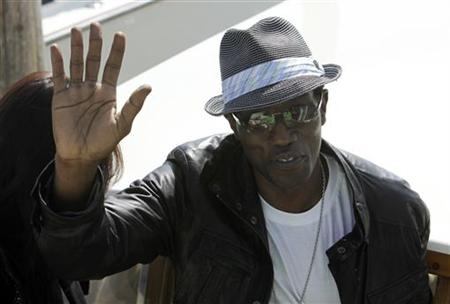 Wesley Snipes arrives at the Venice Film Festival September 7, 2009. REUTERS/Manuel Silvestri