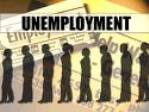 Unemployment graphic.