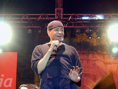 Singer Al Jarreau
