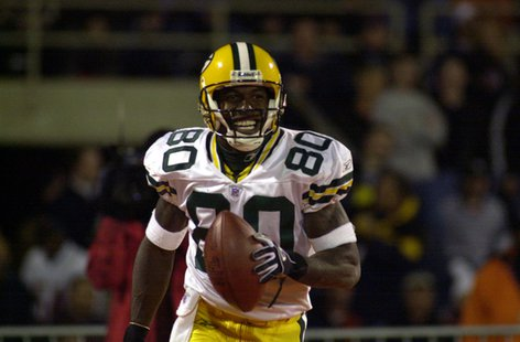 Donald Driver of the Green Bay Packers.