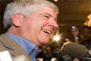 Governor Rick Snyder (R-Ann Arbor)