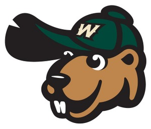 Woody, the mascot of the Wisconsin Woodchucks baseball team.