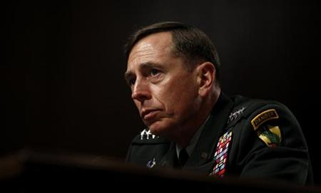 U.S. General David Petraeus testifies at his Senate Armed Services Committee confirmation hearing to become commander of U.S. forces in Afghanistan on Capitol Hill in Washington June 29, 2010. REUTERS/Kevin Lamarque