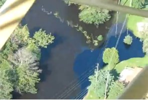 Youtube video of the Battle Creek oil spill