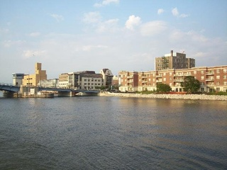 Photo taken from the Foxy Lady on the Fox River, Green Bay, July 31, 2009. (Photo submitted by Matt Knoke to FOX 11.)