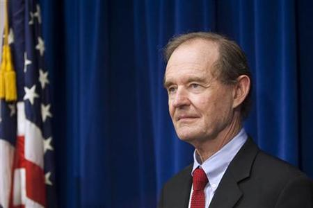 David Boies closing arguments in federal court in San Francisco, California, June 16, 2010. REUTERS/Kim White