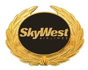 Sky West airline logo.