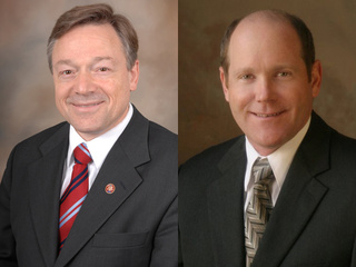 8th Congressional District candidates Steve Kagen (D), left, and Reid Ribble (R). (courtesy of FOX 11).
