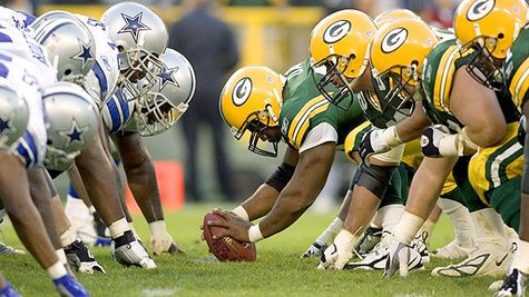 The Green Bay Packers vs. Dallas Cowboys.